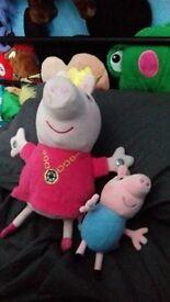 Peppa Pig Teddies