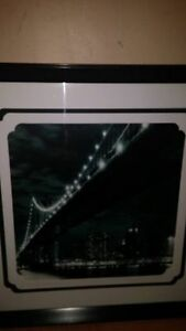 2 bridge pictures 23x23
