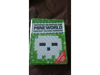 Brand New sealed Minecraft book sets with stickers