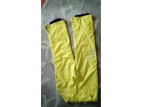 Ski pants yellow O'Neil New