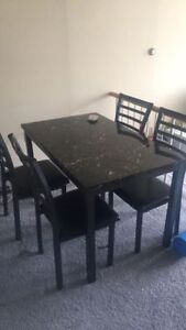 Dining table +Chairs