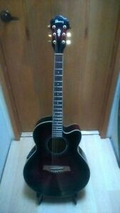 Ibanez AEL20E-TCS 6 String Acoustic-Electric Guitar