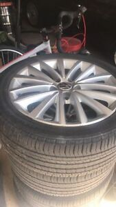 VW jetta highline wheels + tires