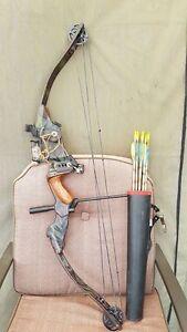 arc de chasse avec fleches  a vendre ou echanges contre laptop,