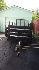 TRAILER (with hitch) Great Condition