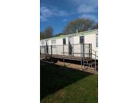 Static caravan 35 foot x 12 foot 8 berth to rent in Skegness