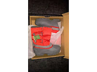 Campri Girls Snow Boots - Size 1 - New in Box - Never Worn
