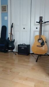 GREAT DEAL FOR ACOUSTIC AND ELECTRIC GUITAR SETUP
