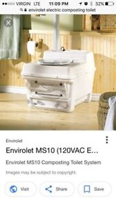 Envirolet Waterless Self-Contained Toilet