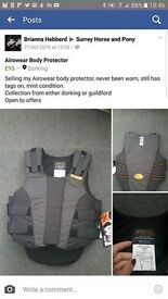 Airowear body protector BRAND NEW