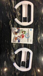 Mario Kart Wii with wheels