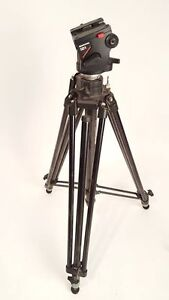 **trepied Manfrotto + tete + plaque**
