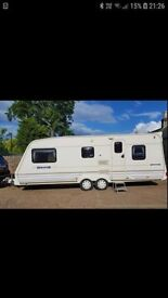 2001 Bailey Senator Montana 5 Berth Caravan with full size Awning