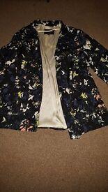 3 river island blazers/jackets size 18