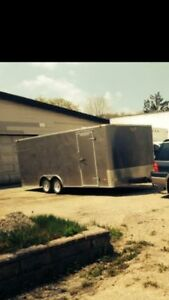 2011 car hauler ,19 and half foot ,new tires ,and cabinets,