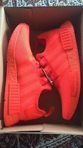 Adidas NMD Solar Red DS SIZE 11.5 - NEVER WORN