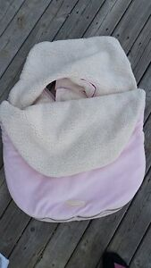 Pink Bundle Up Car Seat Cozy
