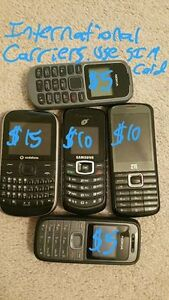 Random Cell Phones From Around the World