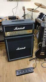 Marshall avt 150H half stack amp