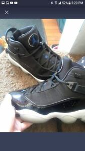 "size 9.5 Air jordan ""Six Rings"""