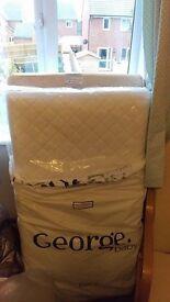 Baby Cot Coil Sprung Mattress Un-used 120cm x 60cm