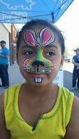 Add color to any event this June! By Painted Parrot Facepainting