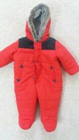 0 -3 months Snow Suit
