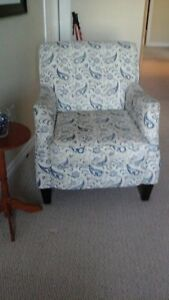 Glider rocker and Accent chair