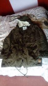 Ladies size 14 Parka coat