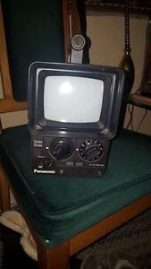 "Panasonic Solid State Cordless TV Runs with 9 ""C"" Batteries"