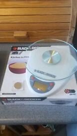kitchen scales Black&Decker 3kg