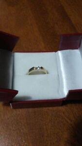 Bague Or 14k avec diamant