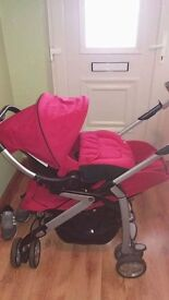 RED SILVER CROSS 3D TRAVEL SYSTEM