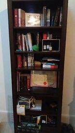 Bookshelf dark brown