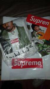 Supreme, Nas tee, White, Size L, DS