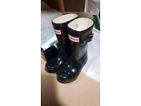 Genuine kids hunter wellies
