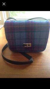 Harris tweed Scottish mini purse