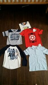 Boys Size 4T Tops - All in New Condition - $20 for all 5
