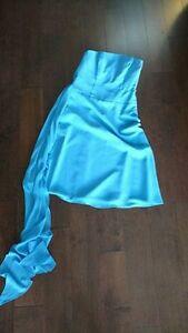 Bridesmaid dress, cornflower blue, size 6