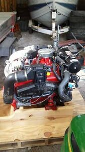 Used 350 Volvo inboard-outboard motor.