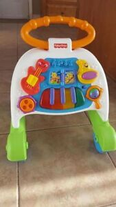 Baby sit to stand/walker