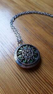 Aromatherapy Locket Necklaces