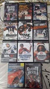 Batch of 11 PS2 games in great condition. $20 for all.