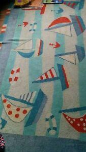 Sailing theme rug + decor