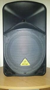Behringer B112MP3, PA Speaker, MP3 Player, and Integrated Mixer