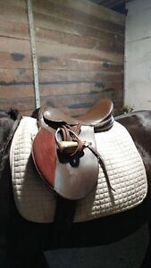 Brown Leather All Purpose Saddle