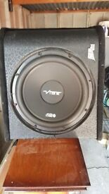 "Vibe Slick S12 12"" Inch 1200Watts Subwoofer"