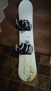 Board, bindings & boots