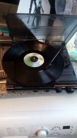 Steeple tone record player