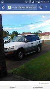 1997 Toyota RAV4 Wagon Shortland Newcastle Area Preview